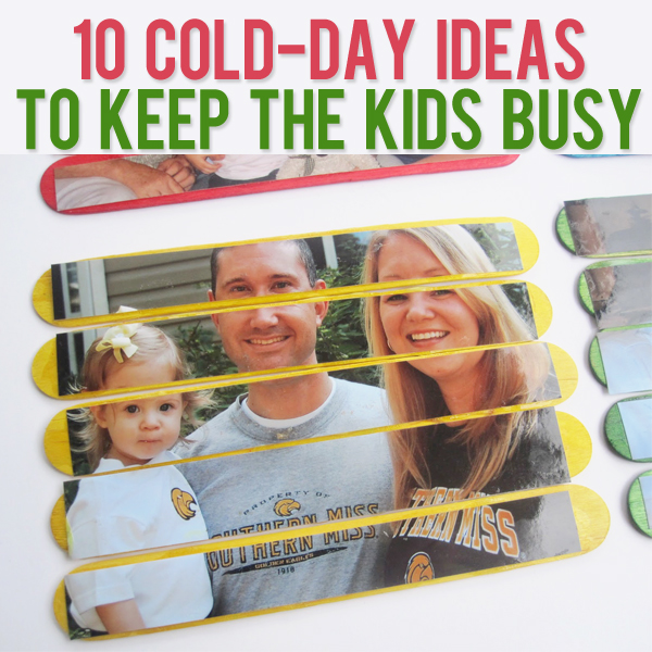 10 Cold Day Ideas to Keep the Kids Busy