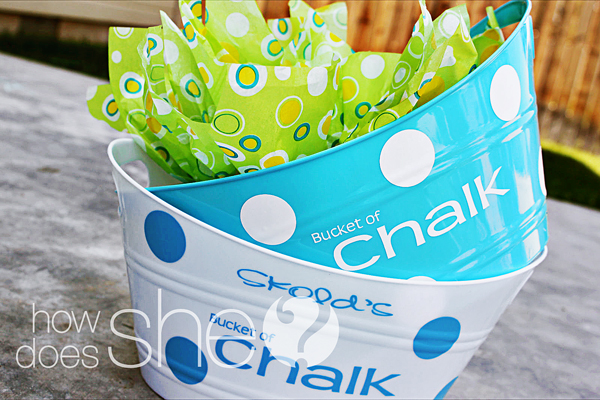 Bucket of Chalk