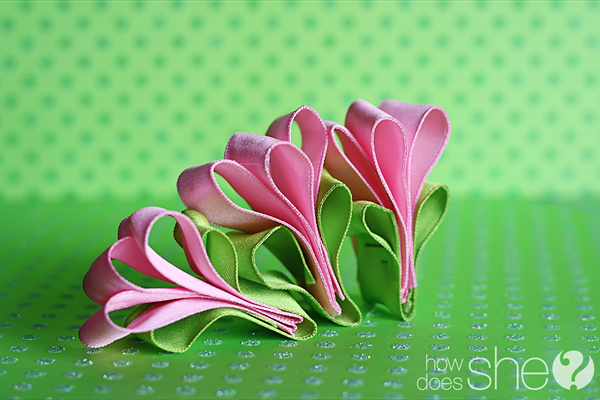 Ribbon Tulip Video Tutorial