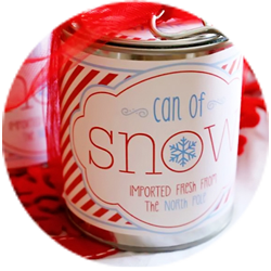 snow printable circle thumb