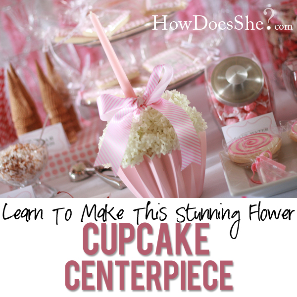 Stunning-Flower-Cupcake-Centerpiece featured image