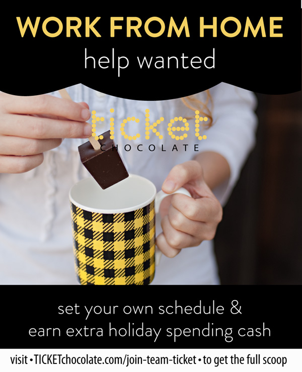 6 WorkFromHome TICKETchocolate