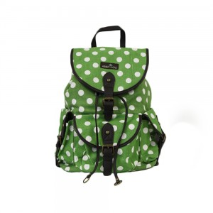 Social Butterfly Backpack Green - Front