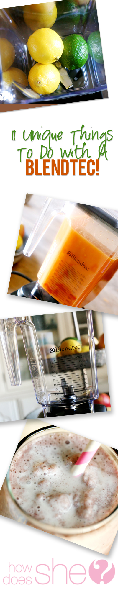 blendtec collage
