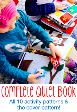 Complete Quiet Book Pattern Set