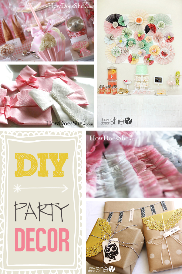DIY Party Decor