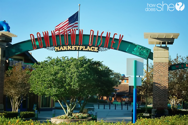 Downtown Disney Photo copy