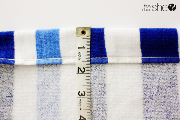diy spa towel (6)