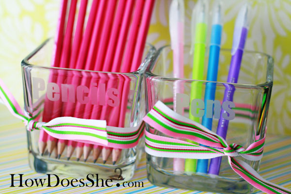Inexpensive Pencil Holders
