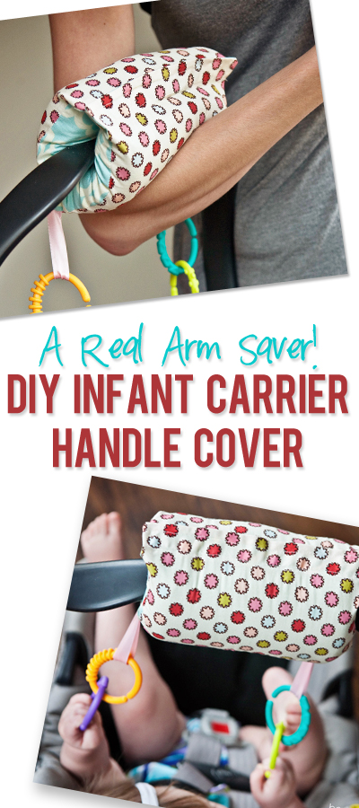 infant carseat handle cover pinterest