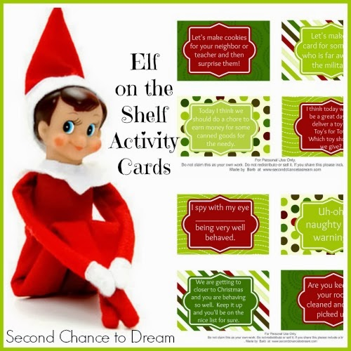 It's just a picture of Slobbery Printable Elf on the Shelf