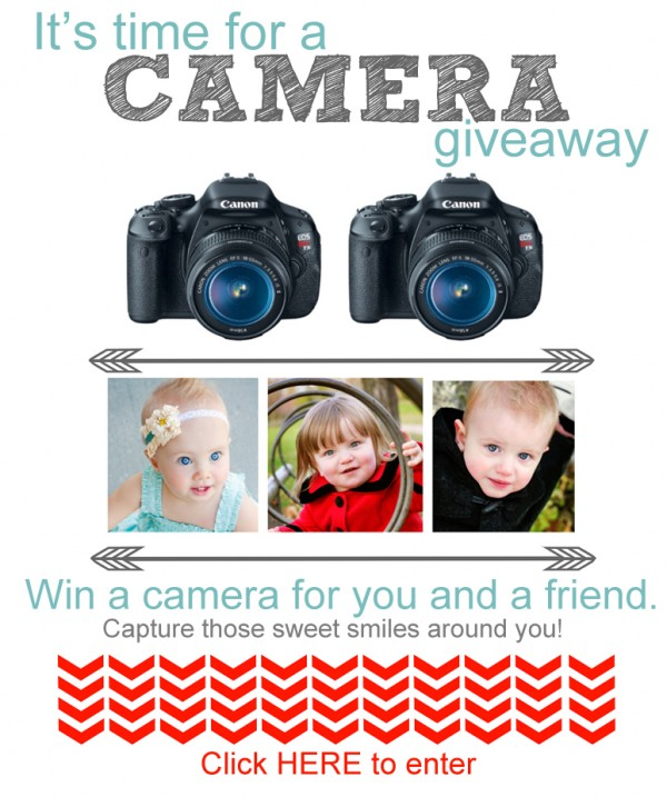 Camera Giveaway for you and a friend!