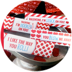valentine printables circle thumb