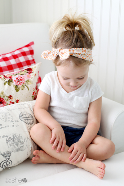 Knotted Baby Headband Tutorial Diy Your Own Knotted Headband
