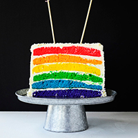 How-to-Make-a-Rainbow-Cake featured image