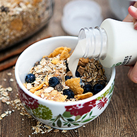 Cinnamon Almond Muesli featured image