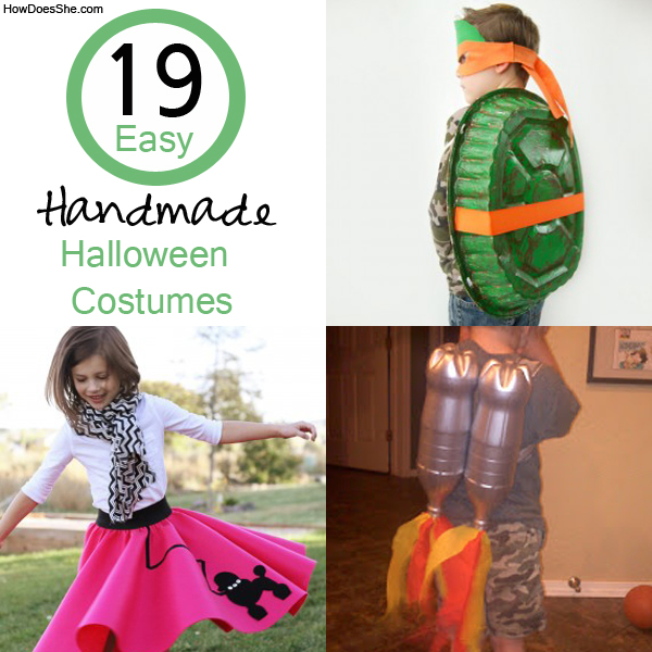 Easy Homemade Halloween Costumes For Girls 19 easy costumes
