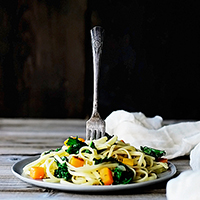 ButternutSquashKalePasta1 featured image