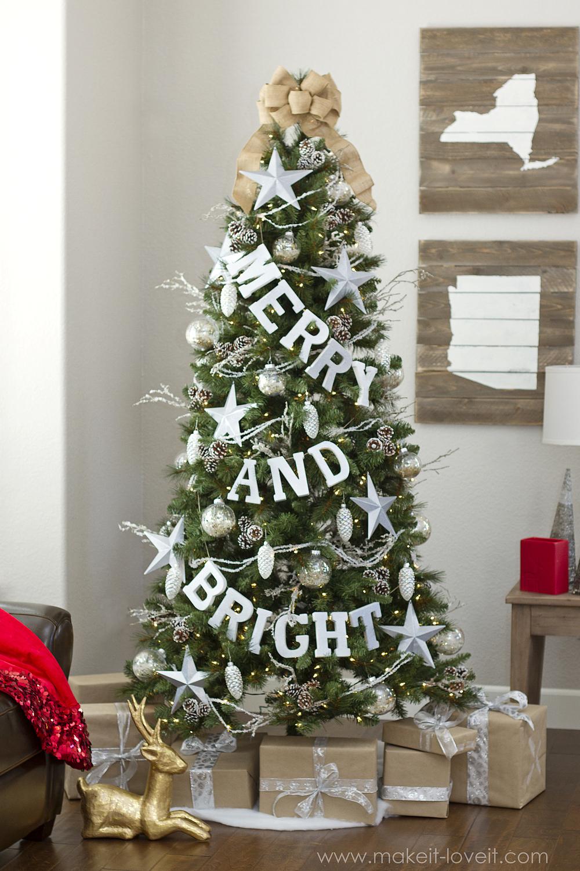 tradičný biely stromček