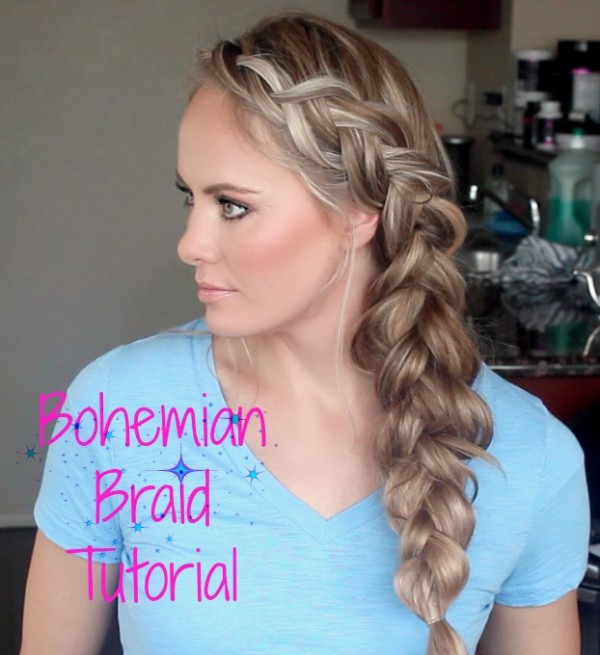 BIG FAT Bohemian Braid – So easy and so darling.