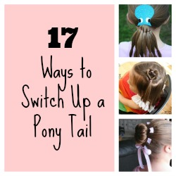 Pony tail featured Collage