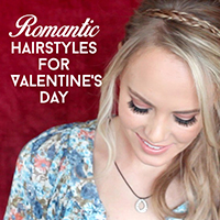 romantic hairstyles for valentines day featured image