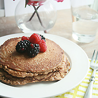 tasty protein pancakes featured image