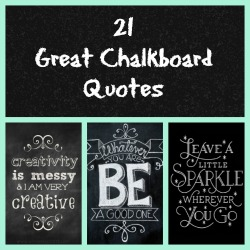 chalkboard featured Collage