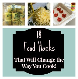 food hacks featured Collage