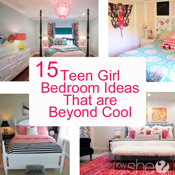 15 teen girl bedroom ideas that are beyond cool how does she - Teenage girl bedroom decorations ...