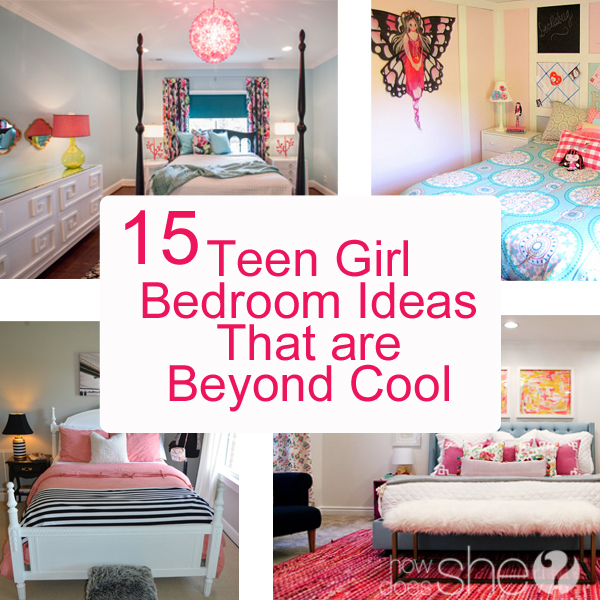 Teenage girl bedroom ideas diy 15 ideas that are beyond cool for Bedroom ideas for teens