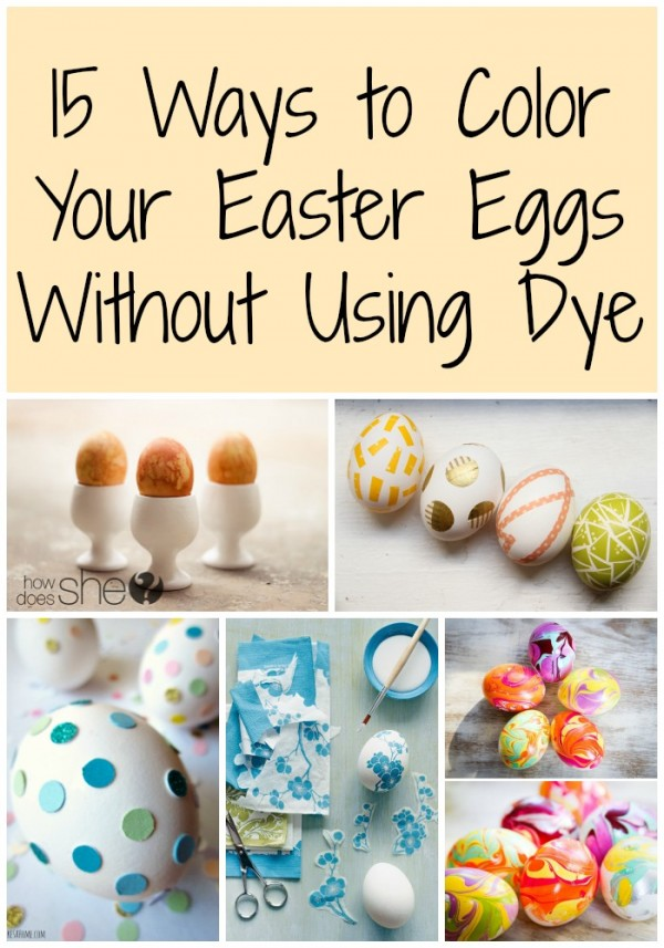 15 Ways to Color Your Easter Eggs Without Using Dye pin