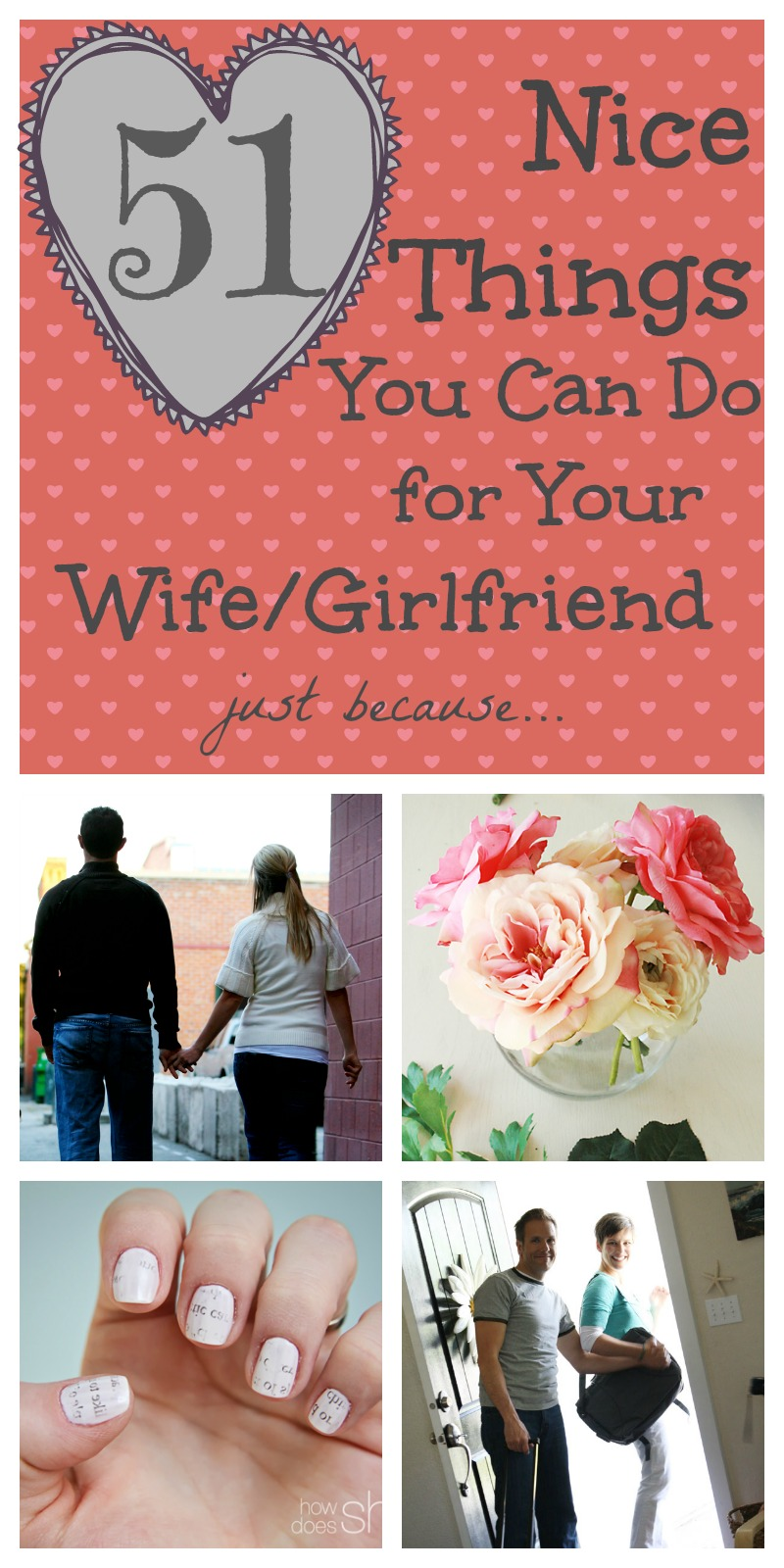 Nice Things to do for your Wife/Girlfriend
