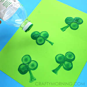 water-bottle-shamrock-st-patricks-day-craft-for-kids1