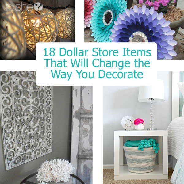 The Decorating Store: How To Decorate With Dollar Store Items