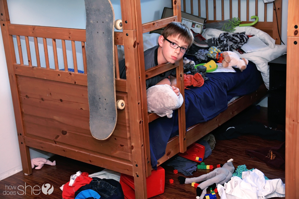 How To Teach Your Child To Clean ANY Bedroom In 10 Minutes