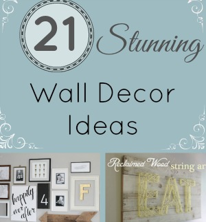 Wall decor featured