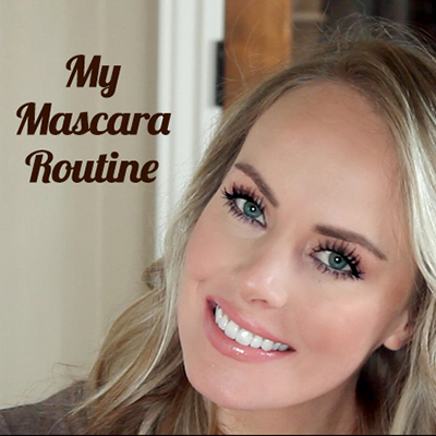 my mascara routine featured