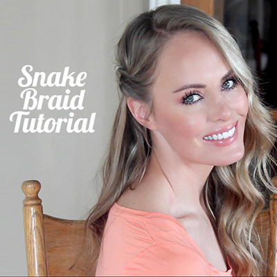 snake braid tutorial featured