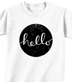 HELLO - T-shirt Transfer
