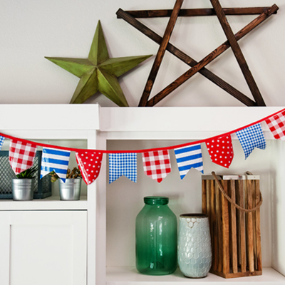 Easy Pennant Banner Tutorial featured