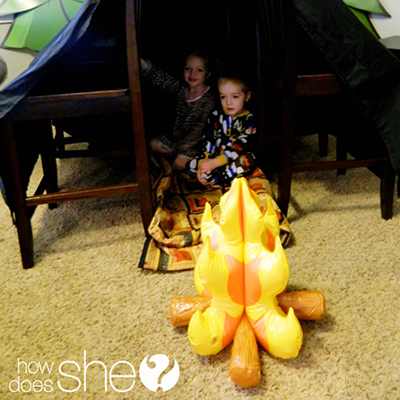 Indoor-Camping
