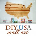 DIY USA wall art (featured)