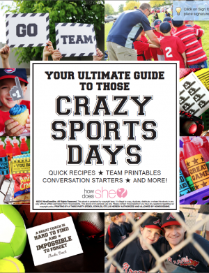 YOUR ULTIMATE GUIDE TO THOSE CRAZY SPORTS DAYS