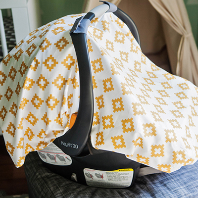 diy carseat canopy featured image