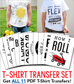 COMPLETE T-SHIRT TRANSFER BUNDLE