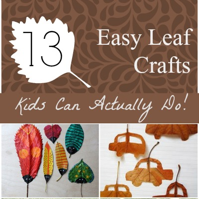 Leaf Crafts featured