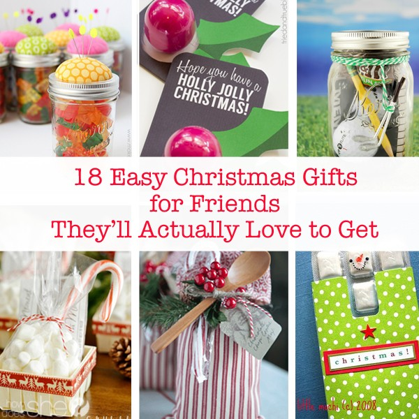 Easy christmas gifts for friends 28 images homemade for Easy presents to make for friends