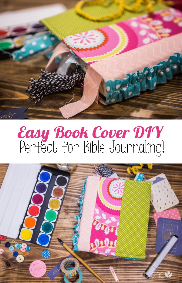 Paperback Book Cover Diy ~ Easy book cover diy perfect for bible journaling how