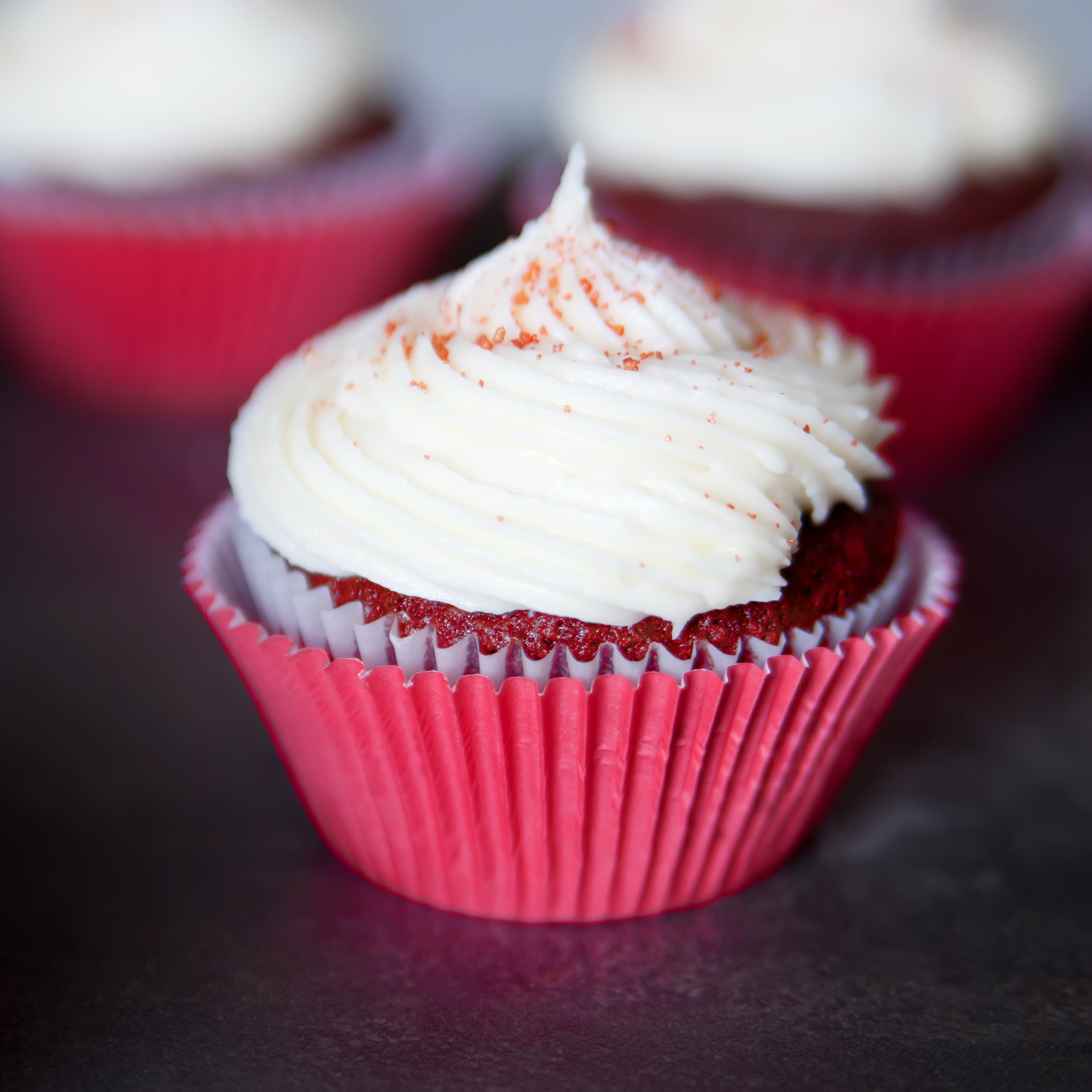 red velvet cupcakes featured